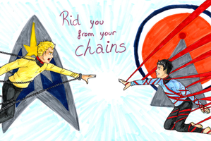 Star trek - Rid You From Your Chains by sasu7