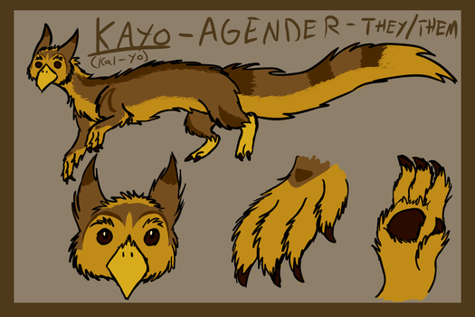 Kayo Ref by brandy212