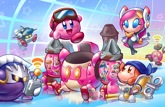Kirby: Planet Robobot by Torkirby