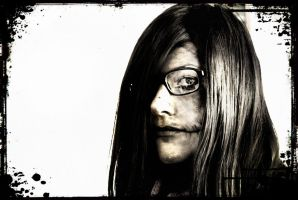 Random Photo Editing of Me: Halloween Makeup by ArtisticallyBadAss