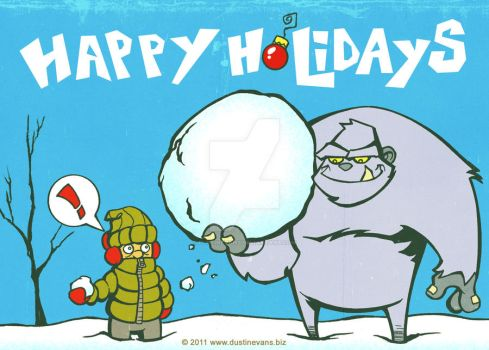 Happy Holidays 2011 by DustinEvans