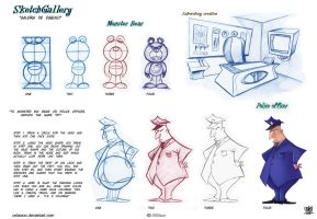 how to draw cartoon step by step by celaoxxx