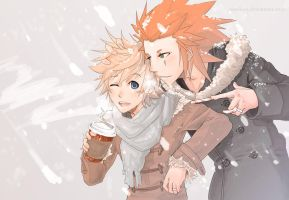 KH: Snow Days by Norikuu