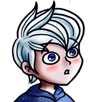 Jack Frost blushes plz account by chillydragon