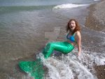 Swimmable Mermaid Tail by whimsyandmalice