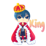 King Kageyama by rainbowstar-chan
