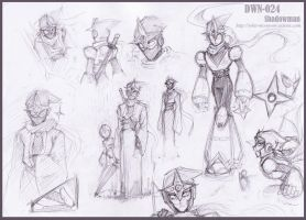 Sketch : Shadowman by whitmoon