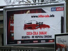 Killer-Cola billboard by 13VAK
