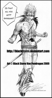 GRIMMJOW: Live for the fight by blackstorm