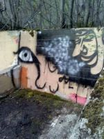 wall in the middle of nowhere by Jellisa773