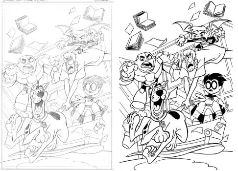 Scoobydoo Teentitansgo Sample Final With Pencils 0 by XxPohGoxX