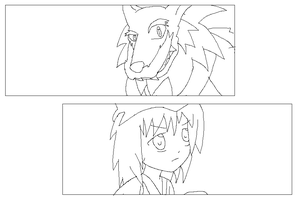 Redesigns for Two OCs preview by Karasu-96