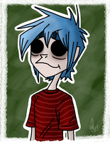 2D 2014 doodle by Maygirl96