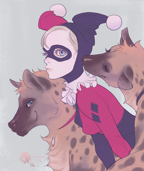 Harley, Bud and Lou by Ricken-Art