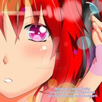 Red Haired Girl by LenaleeExorcist