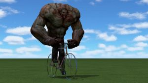 Tank on a  bike by WitchyGmod