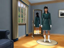 Sims 3 - Human Kitty Katswell in everyday outfit 1 by Magic-Kristina-KW