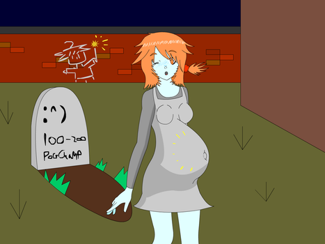 Mayternity: Rose and the case of the odd graffiti by SqwarkDemon