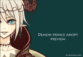 Adopt Demon Prince PREVIEW by Aritsune-chan