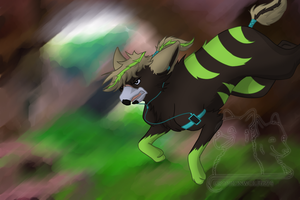Don't Stop Til' You Drop - With Speedpaint! by Gryphonwolf6274
