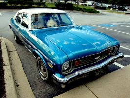 1970's Chevy Nova (front view) by Adriellovesart