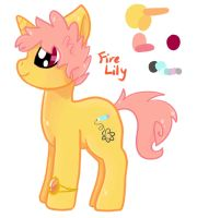Fire Lily Simple Ref by FiretailCat