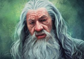 Gandalf by Edwardch93