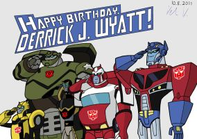 Derrick J. Wyatt's birthday by vmv-81