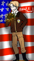 APH: Cartoony America! by Field-Of-Roses