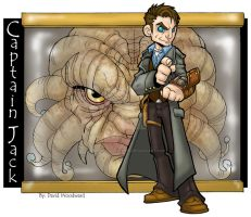 Captian Jack Harkness by badgerlordstudios