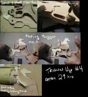 Trigun- Vash's gun WIP no.4 by fevereon