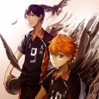 Haikyuu!! by kahmurio