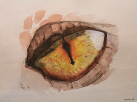 Smaugs Eye by Anouk-Jill
