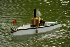 Steam boat rc by shercoteam