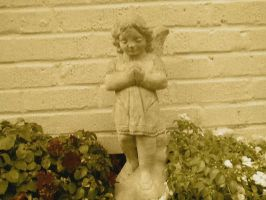 Angel Antique by FroggieFaith