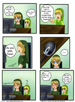LoZ: Link's and Toon's Reaction to the Internet by NinjaFalcon90