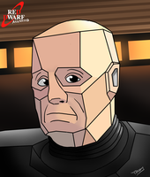 Red Dwarf: The Animated Series Kryten 2X4B - 523P by Tommassey250