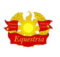 Coat of Arms of Equestria by thefieldsofice