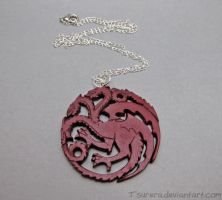 Game of Thrones - House Targaryen - Dark version by Tsurera
