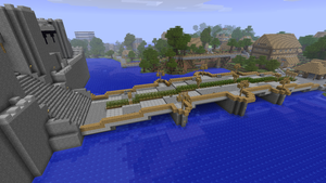 Graphisterium Bridge Minecraft by nyl000