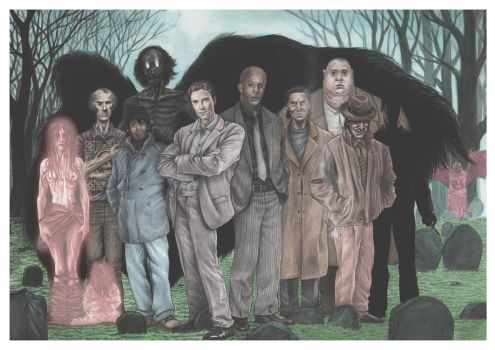 Charlie Parker And Others by superupaman
