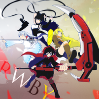 RWBY by chanosuke
