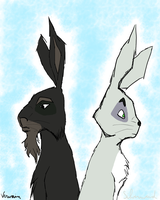 Vervain and Silverweed by Chibiscuit-of-Efrafa