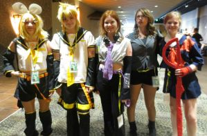 Rin, Len, Haku, and Others! by LukaMegurine78