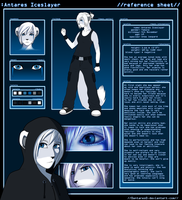 Antares Iceslayer: Reference sheet by AntaresIceslayer