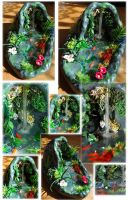OOAK Large Faery Grotto by Forestina-Fotos