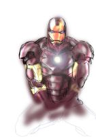 iron man by mansloth