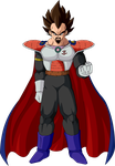 King Vegeta by Majin-Ryan