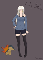 Character for Pokemon RP: Lily Bell by Neldanair