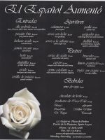 Restaurant Carry Out Menu by floweringgarlic